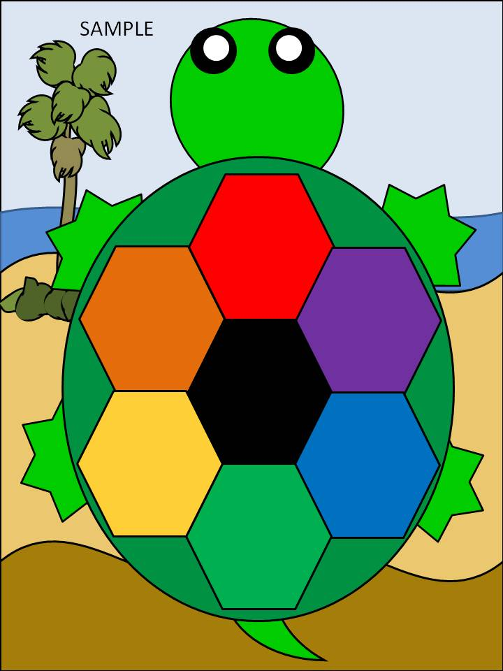 Turtle Color File Folder Fun Lessons And Activities For