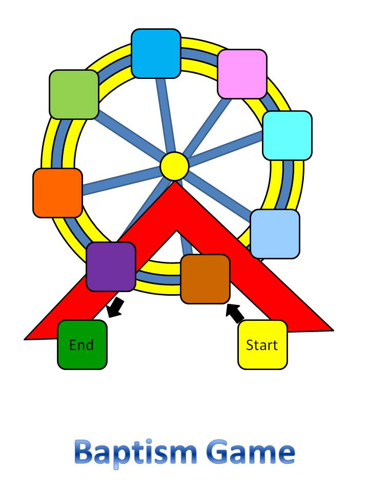 Baptism Carousel Game Lessons And Activities For Everyone