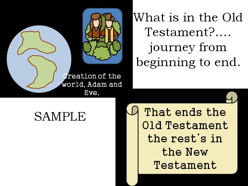 What Is In The Old Testamentjourney From Beginning To End