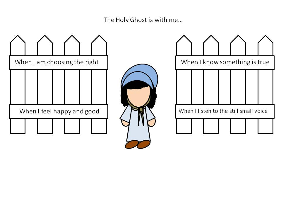 "Primary 1 Lesson 7 ""The Holy Ghost Helps Me"" 