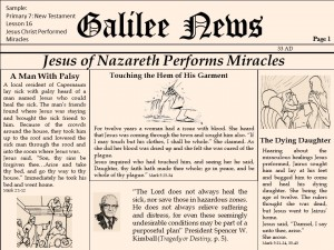 lesson 16 Jesus Christ Performed Miracles