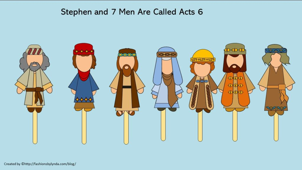 Primary: Come Follow Me (New Testament) Acts 6-9 (July Week